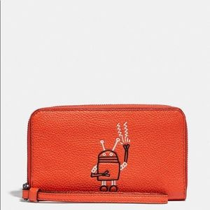 "Coach ""Keith Haring"" Phone Wallet"